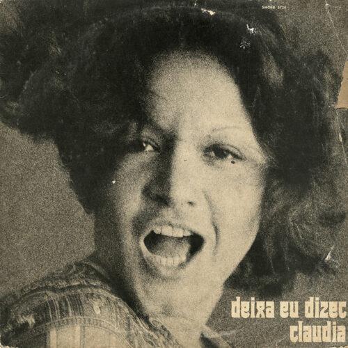 Claúdia Deixa Eu Dizer Odeon LP, Original Vinyl