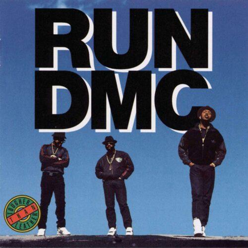 Run-DMC Tougher Than Leather Get On Down LP, Reissue Vinyl