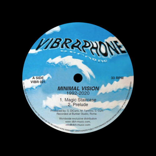 "Minimal Vision Minimal Vision Vibraphone Records 12"", Reissue Vinyl"