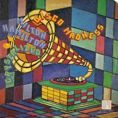 Milton Hamilton Disco Madness Disko-Mania LP, Promo Vinyl