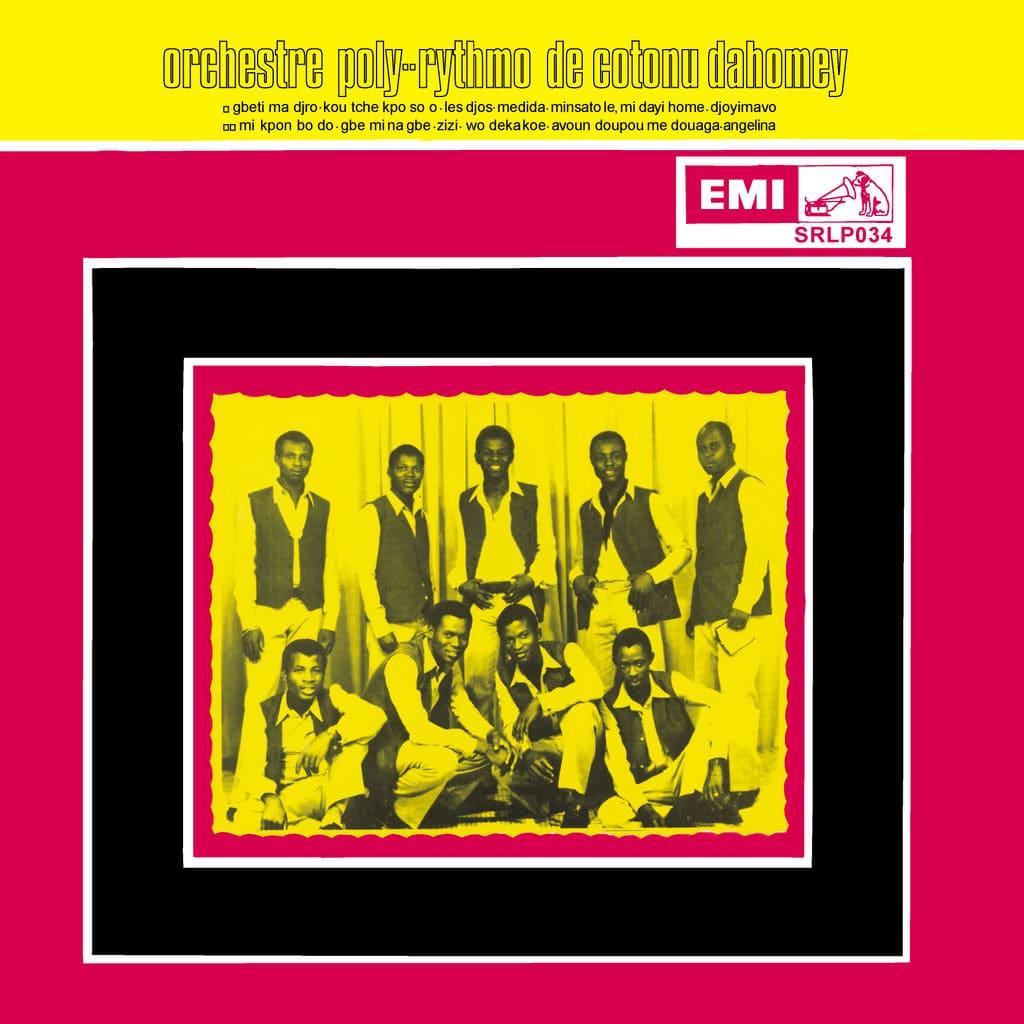 Orchestre Poly-Rythmo De Cotonou Dahomey Superfly Records LP, Reissue Vinyl