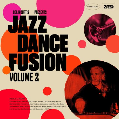 Various Colin Curtis: Jazz Dance Fusion, Vol. 2 Z Records 2xLP, Compilation Vinyl