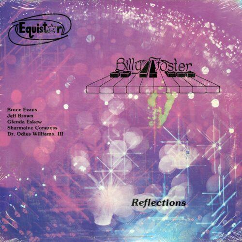Billy Foster Reflections Equistar LP, Original Vinyl