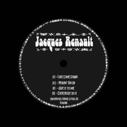 """Jacques Renault Empingao EP Take Away 12"""" Vinyl"""