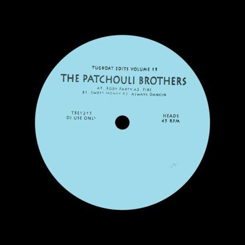 "The Patchouli Brothers Tugboat Edits, Vol. 15 Tugboat Edits 12"" Vinyl"