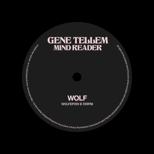 """Gene Tellum Mind Reader Wolf Music 12"""" Vinyl"""