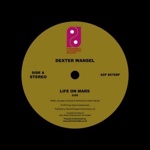"Dexter Wansel Life On Mars / The Sweetest Pain Philadelphia International Records 12"", Reissue Vinyl"