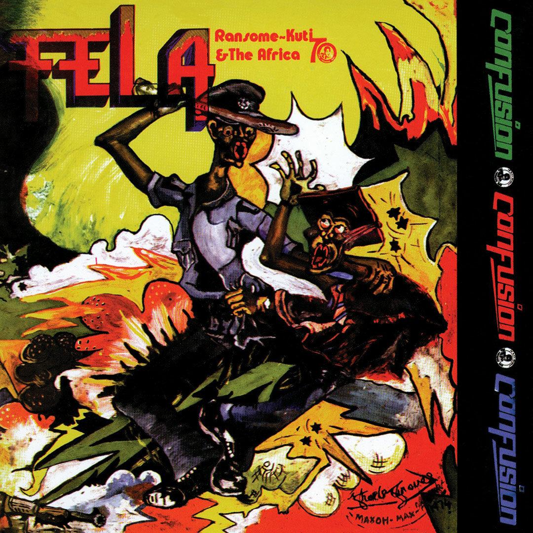 Fela Kuti Confusion Knitting Factory Records LP, Reissue Vinyl