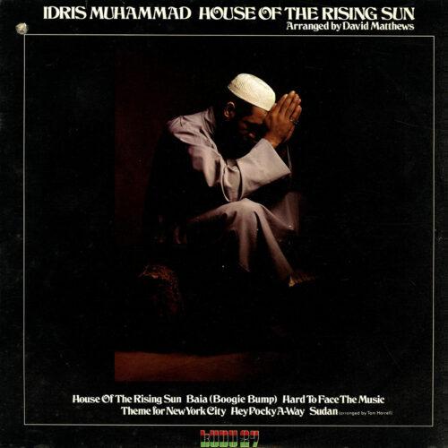 Idris Muhammad House Of The Rising Sun Kudu LP Vinyl