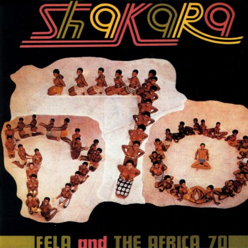 Fela Kuti Shakara Knitting Factory Records LP, Reissue Vinyl