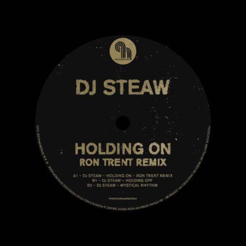 "DJ Steaw Holding On (Ron Trent remix) Phonogramme 12"" Vinyl"