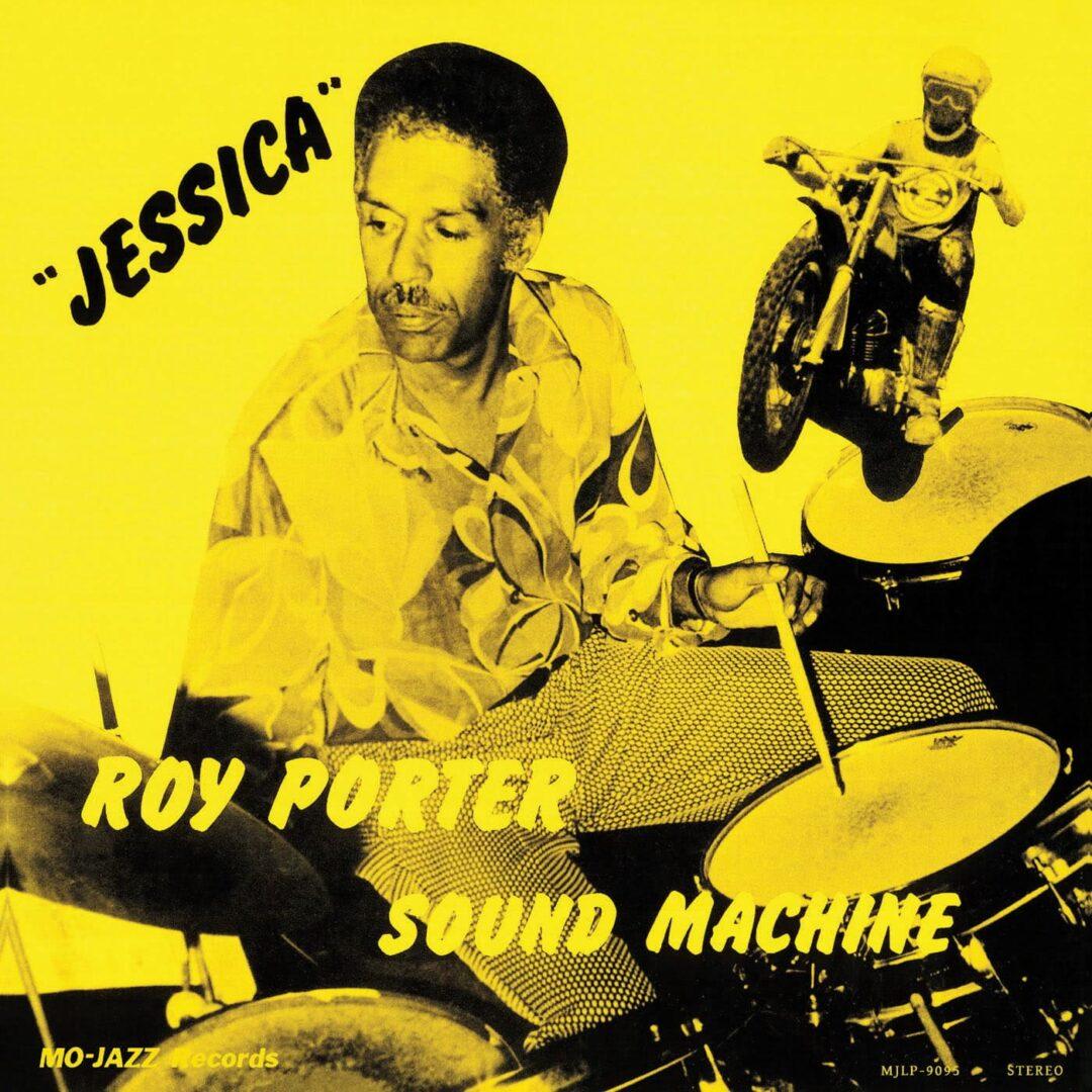 Roy Porter Sound Machine Jessica Mo-Jazz Records LP, Reissue Vinyl