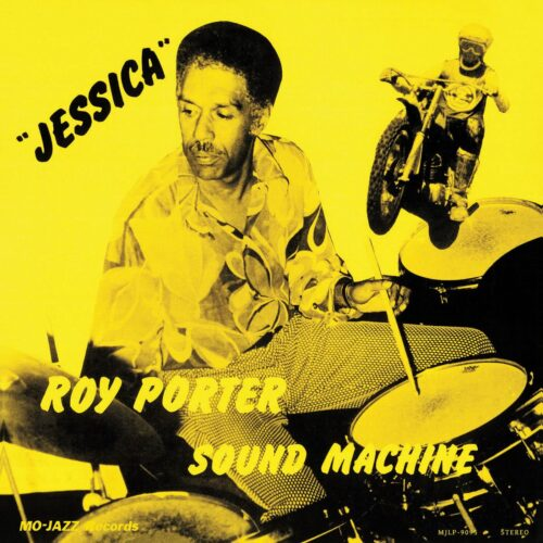 Roy Porter Sound Machine Jessica Mo-Jazz Records LP, Reissue Vinyl
