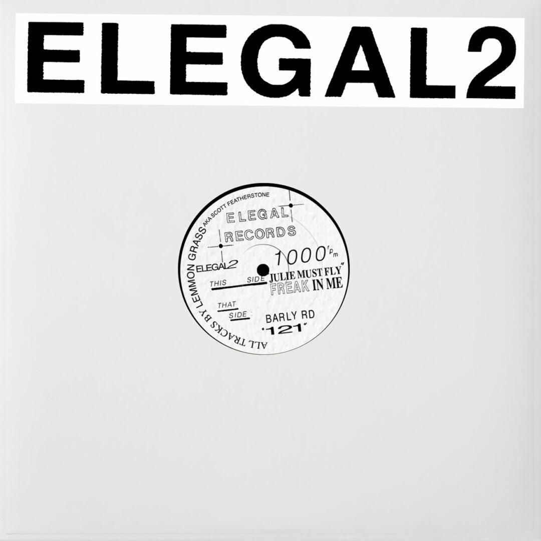 "Lemmon Grass Elegal2 EP Klasse Wrecks 12"", Repress Vinyl"