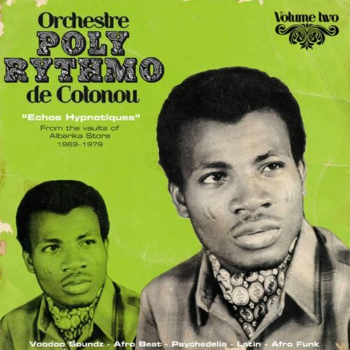 Orchestre Poly-Rythmo Echoes Hypnotiques Analog Africa 2xLP, Compilation Vinyl