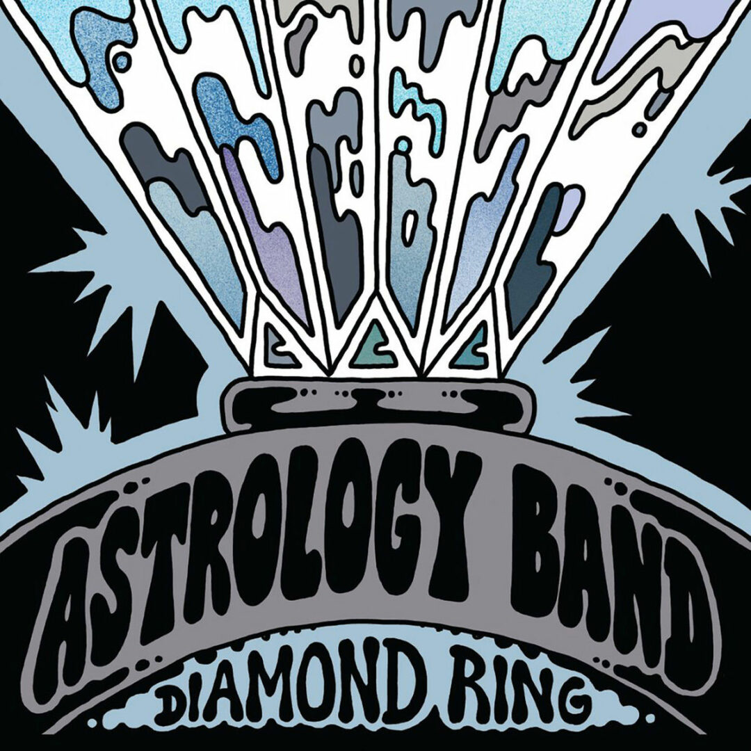 "Astrology Band Diamond Ring / Dream World Fantasy Love Records 7"", Reissue Vinyl"