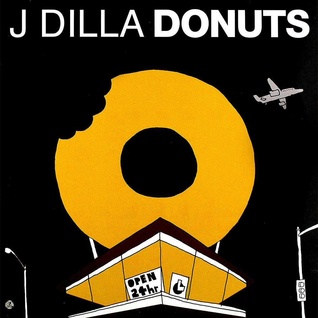 J Dilla Donuts Stones Throw Records LP, Reissue Vinyl