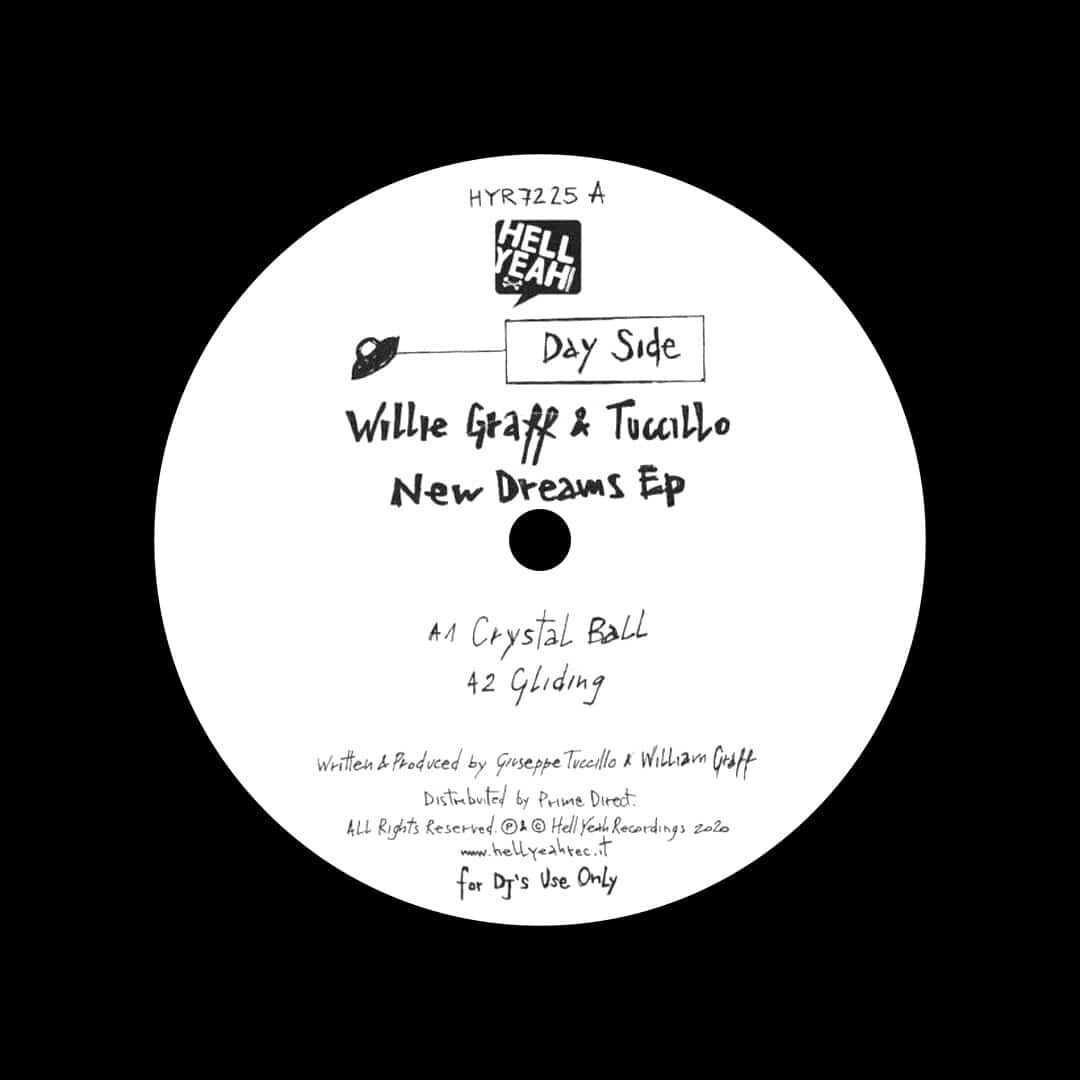 """Tuccillo, Willie Graff New Dreams EP Hell Yeah Recordings 12"""" Vinyl"""