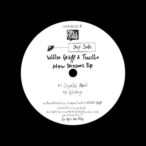 "Tuccillo, Willie Graff New Dreams EP Hell Yeah Recordings 12"" Vinyl"