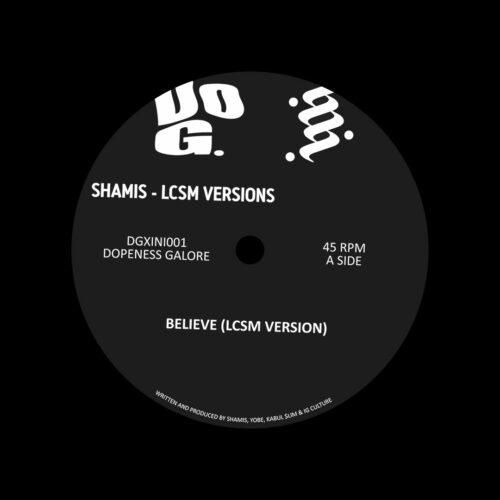 "Shamis LCSM Versions Dopeness Galore 12"" Vinyl"