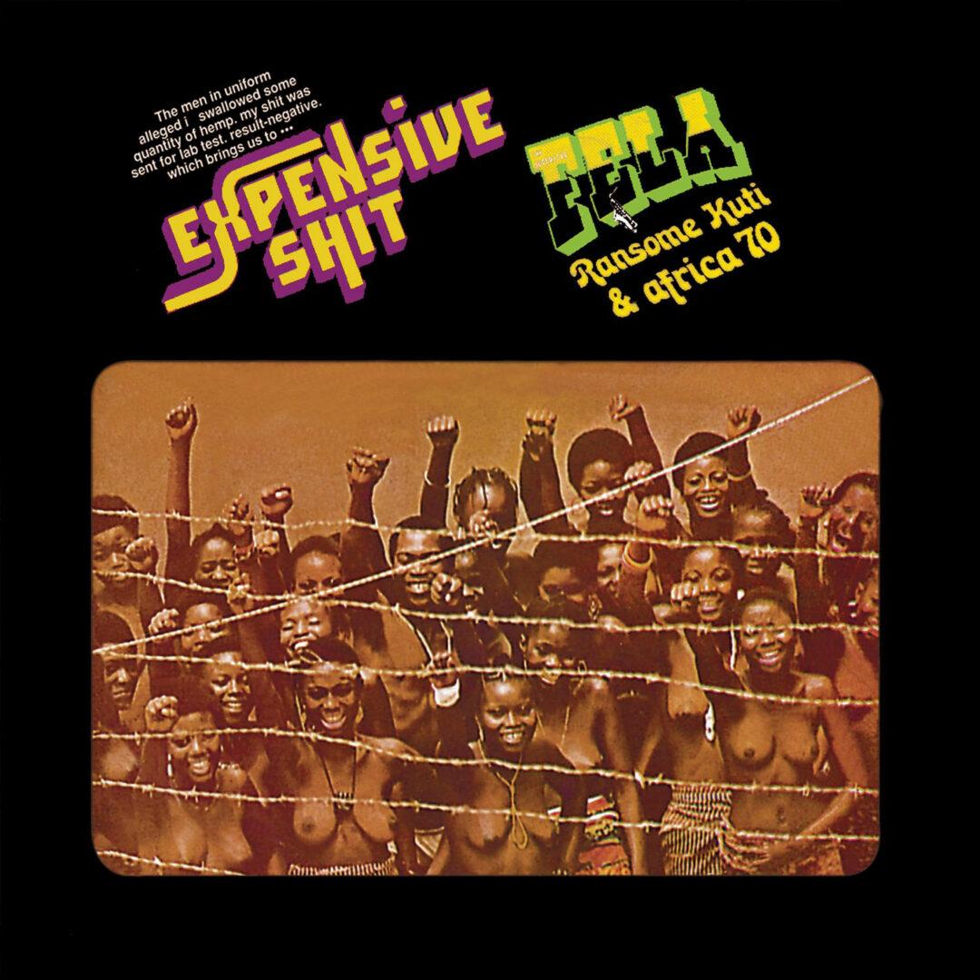 Africa 70, Fela Kuti Expensive Shit Knitting Factory Records LP, Reissue Vinyl