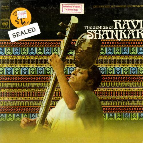 Ravi Shankar The Genius Of Ravi Shankar Columbia LP Vinyl
