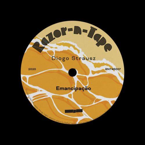 "Diogo Strausz Emancipação Razor-N-Tape 7"" Vinyl"