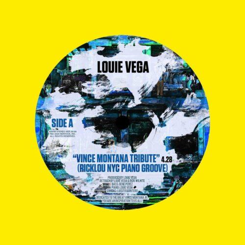 """Louie Vega Vince Montana Tribute Nervous Records 7"""" Vinyl"""