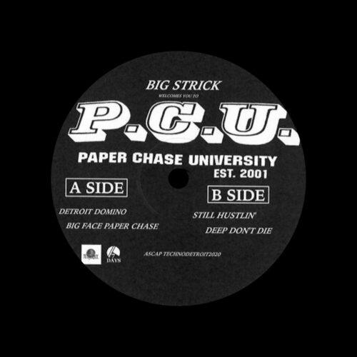 "Big Strick Paper Chase University 7 Days Ent 12"" Vinyl"