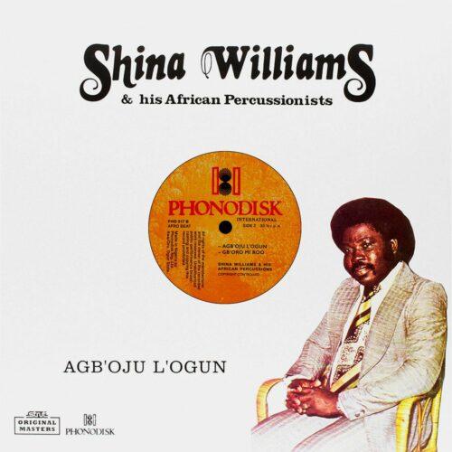 Shina Williams Agb'oju L'ogun Strut LP, Reissue Vinyl