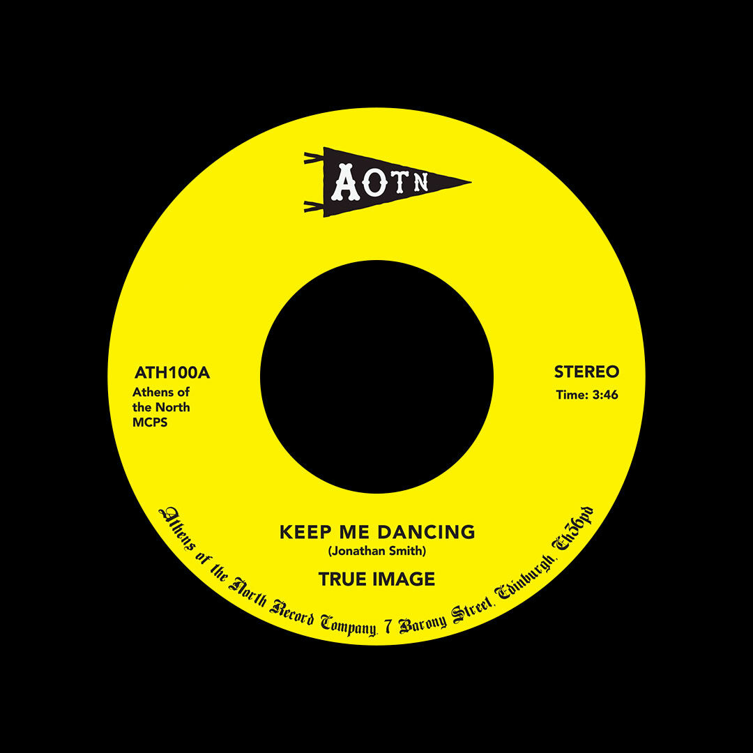 "True Image Keep Me Dancing Athens Of The North 7"", Reissue Vinyl"