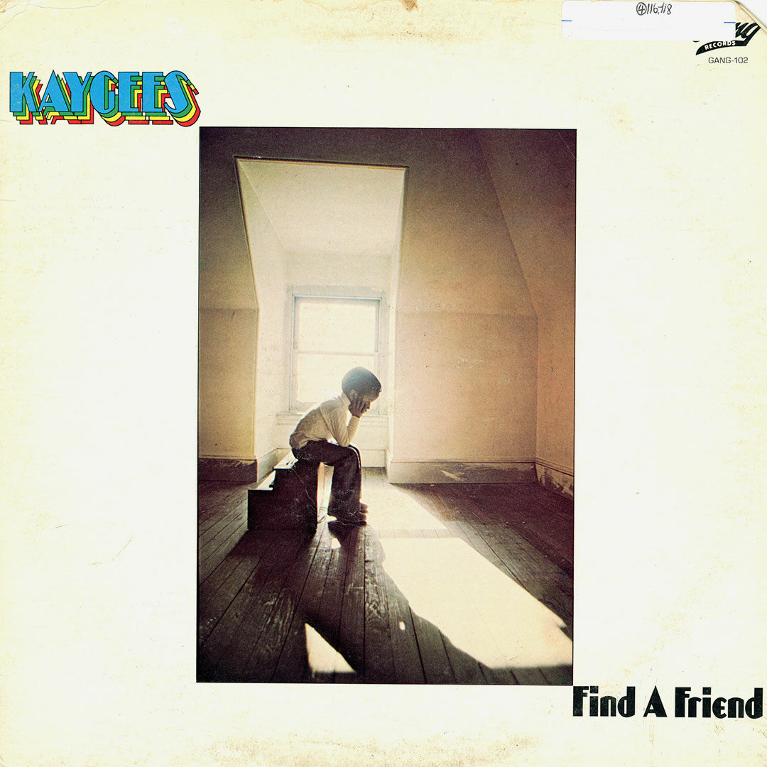 Kaygees Find A Friend Gang Records LP, Promo Vinyl