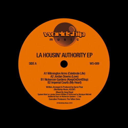 "LA Housin Authority LA Housin Authority EP Worldship 12"" Vinyl"