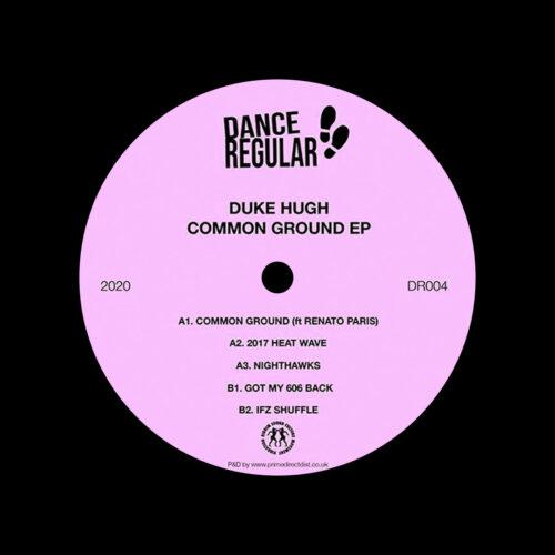 """Duke Hugh Common Ground EP Dance Regular 12"""" Vinyl"""