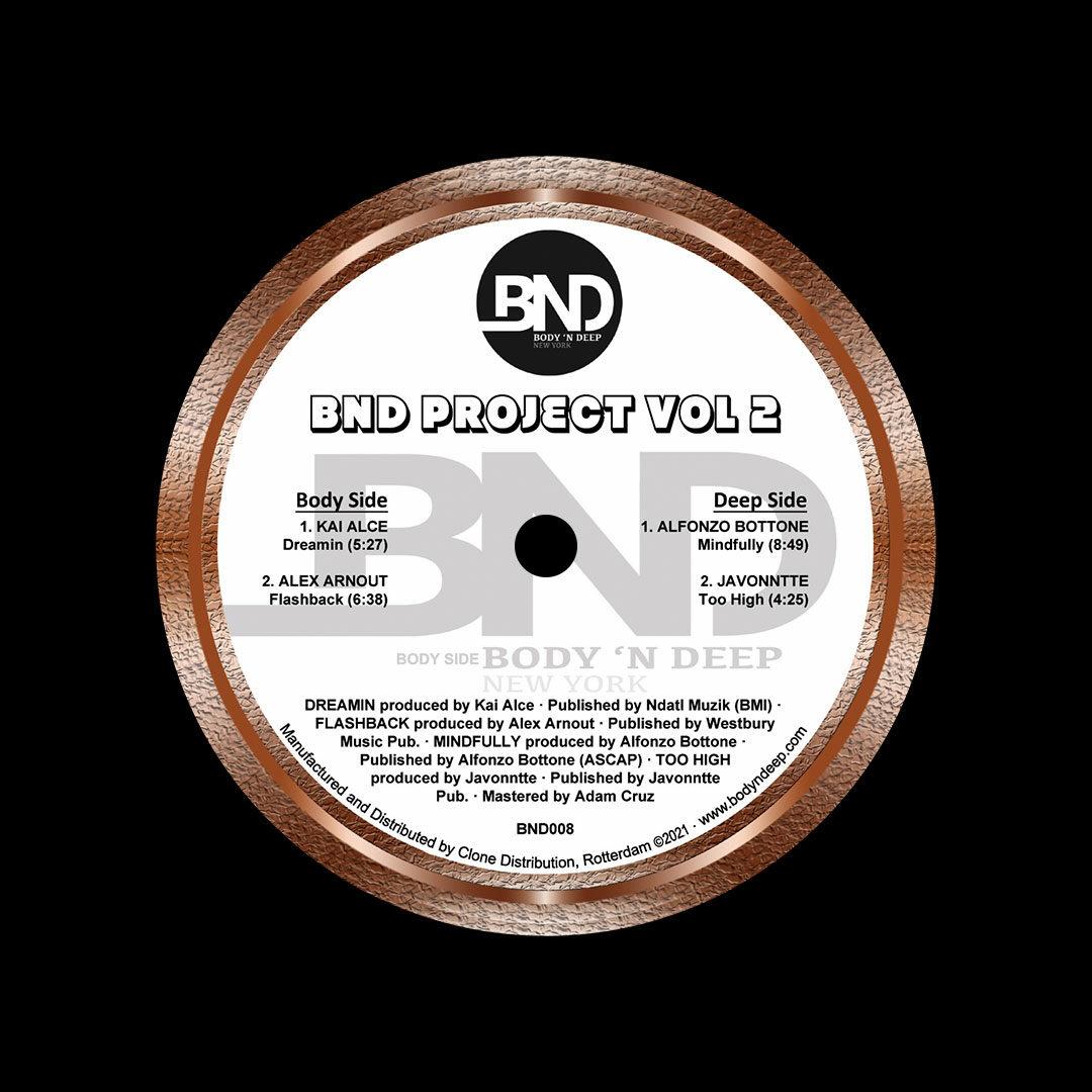 "Various BND Project, Vol. 2 Body N Deep 12"" Vinyl"