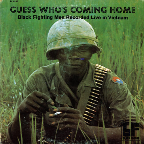 Unknown Guess Who's Coming Home: Black Fighting Men Recorded Live In Vietnam Black Forum LP, Promo Vinyl