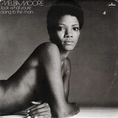 Melba Moore Look What You're Doing To The Man Mercury LP Vinyl