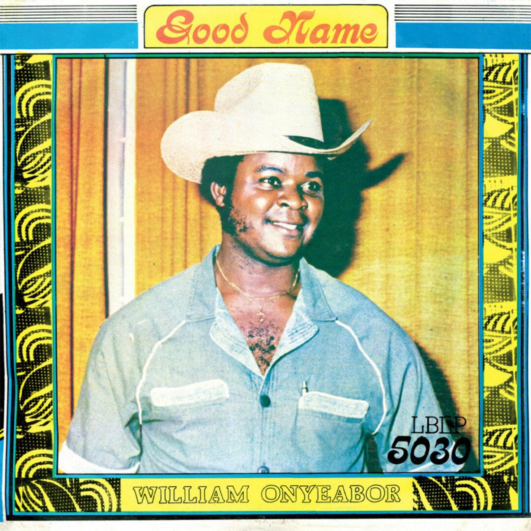 William Onyeabor Good Name Luaka Bop LP, Reissue Vinyl