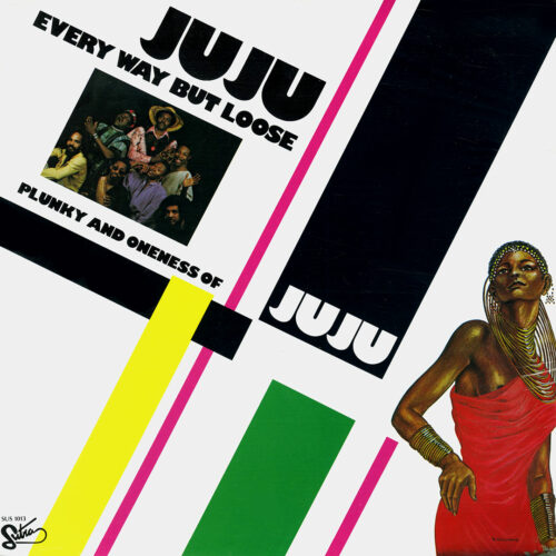 Oneness Of Juju, Plunky Every Way But Loose Sutra Records LP, Reissue Vinyl
