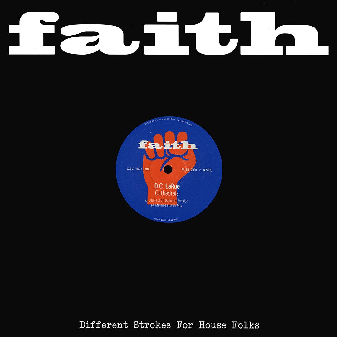 D.C. LaRue Cathedrals Faith 2x12, Reissue Vinyl