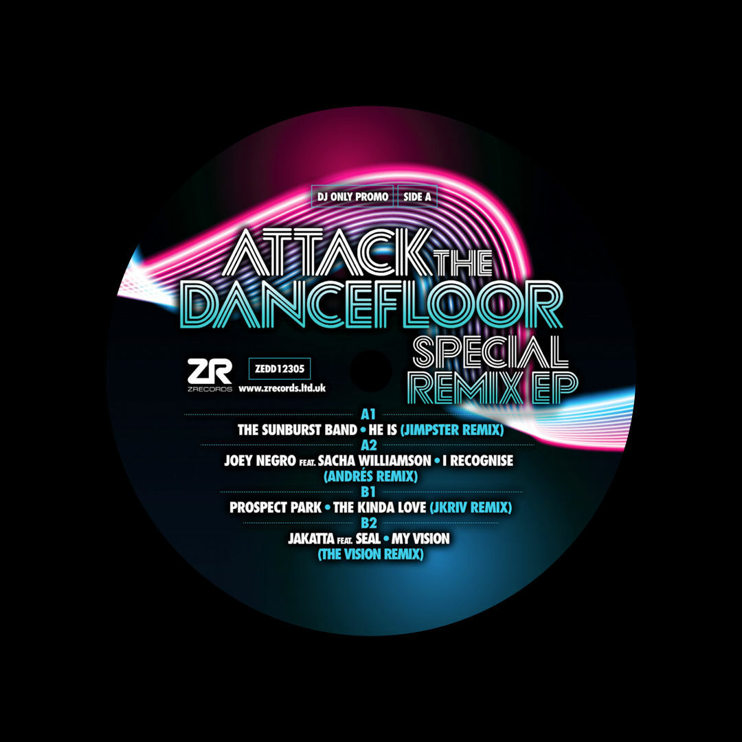"Various Attack The Dancefloor: Special Remix EP Z Records 12"" Vinyl"