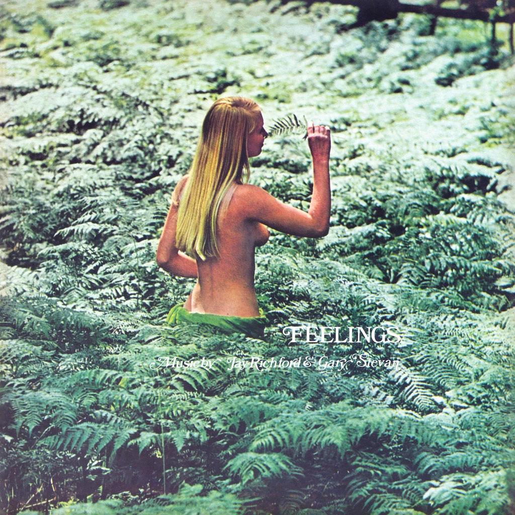 Gary Stevans, Jay Richford Feelings Be With Records LP, Reissue Vinyl
