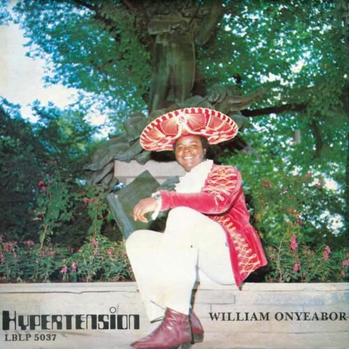 William Onyeabor Hypertension Luaka Bop LP, Reissue Vinyl