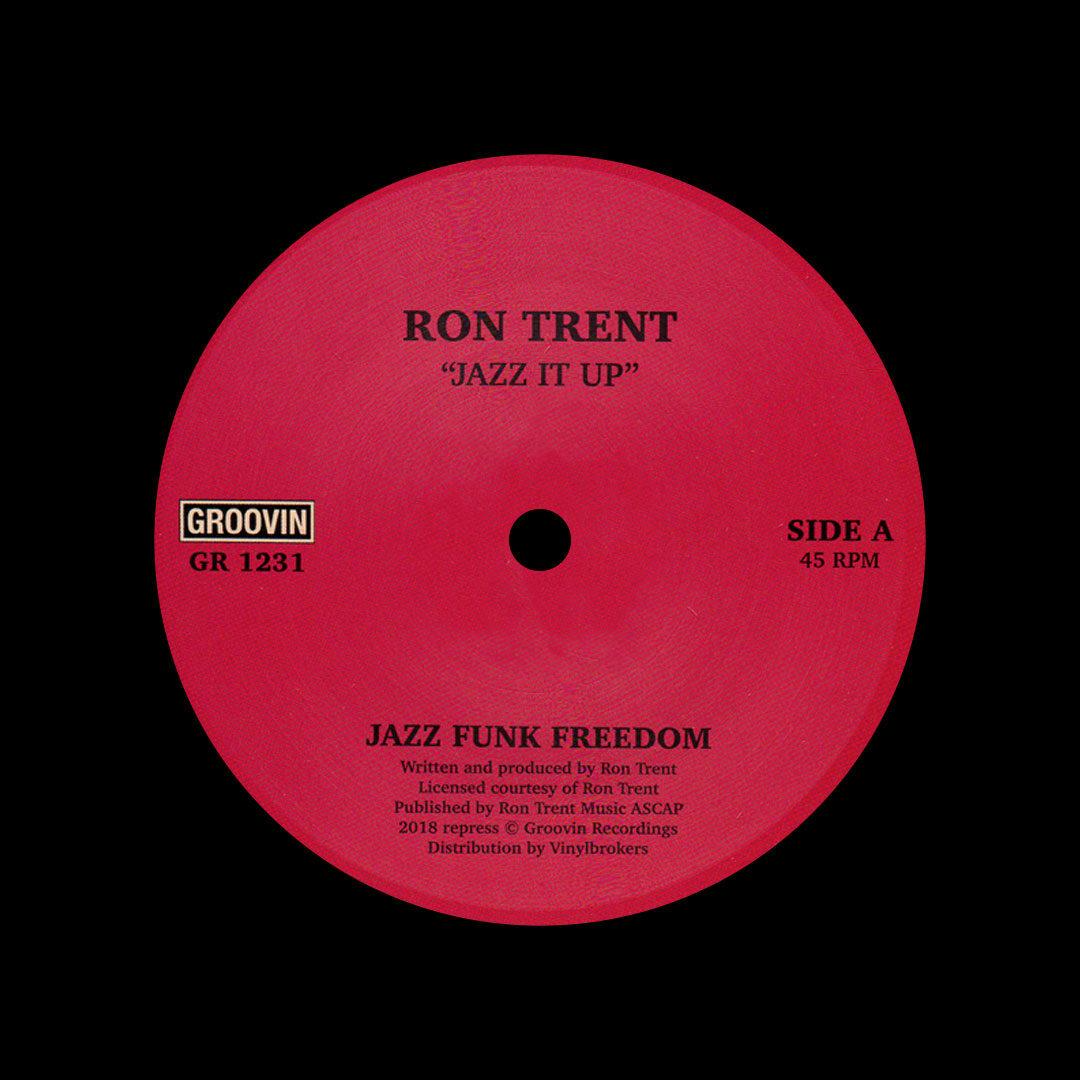 """Ron Trent Jazz It Up Groovin Recordings 12"""", Reissue Vinyl"""