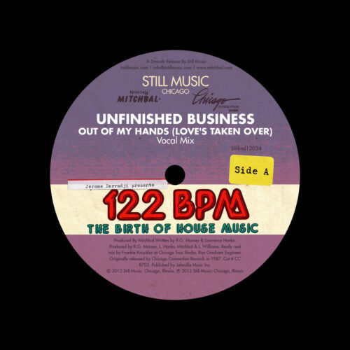 Omni, Unfinished Business Out Of My Hands (Love's Taken Over) Still Music 2x12 Vinyl