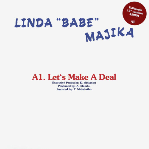 "Linda Babe Majika Let's Make A Deal Rush Hour 12"", Reissue, Repress Vinyl"