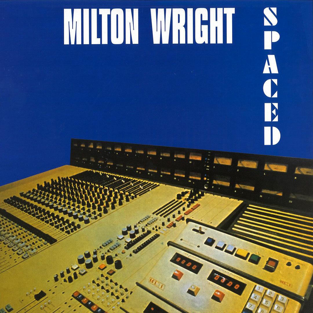 Milton Wright Spaced Alston Records LP, Reissue, White Vinyl