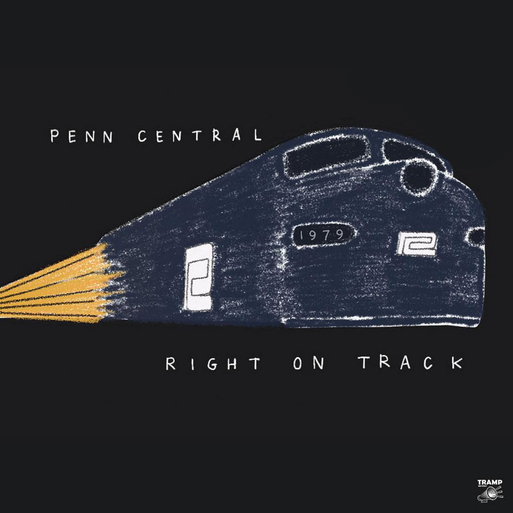 Penn Central Right On Track Tramp LP Vinyl