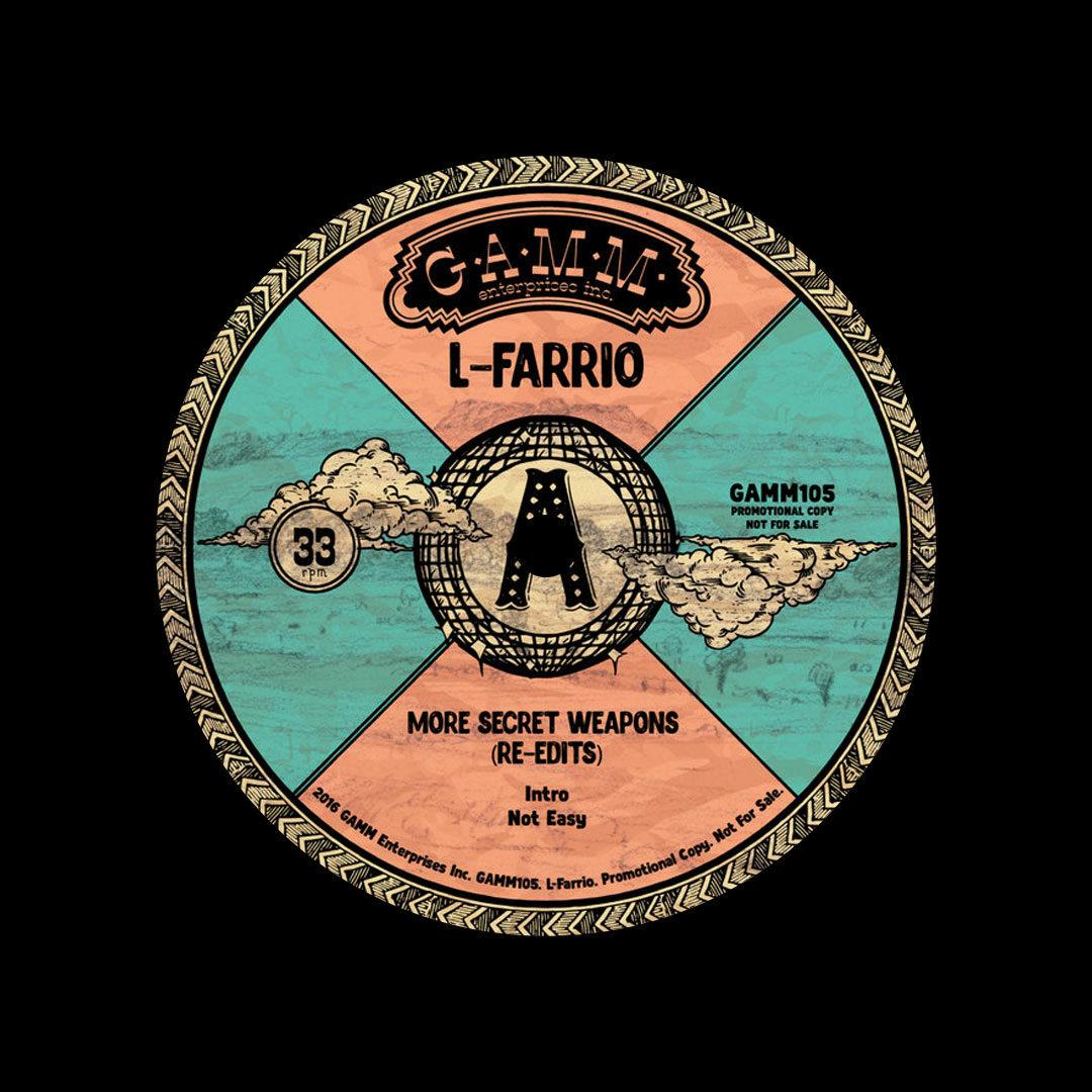 """L-Farrio More Secret Weapons Gamm 12"""" Vinyl"""