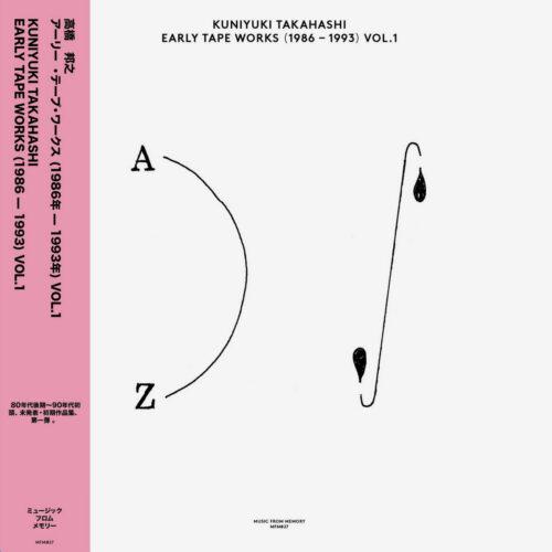 Kuniyuki Takahashi Early Tape Works 86-93, Vol. 1 Music From Memory Compilation, LP Vinyl